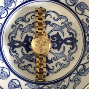 Gold Michael Kors Wrist Watch